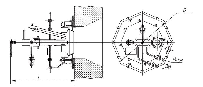 Горелка ГМ-4,5 прав.